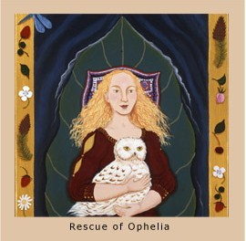 The Rescue of Ophelia Painting by Christine DeCamp