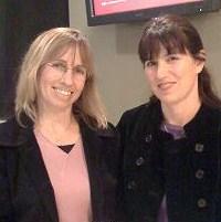 Poets Liz Brennan and Tania Pryputniewicz