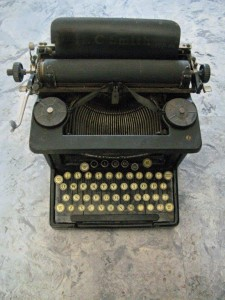 Typewriter by Robyn Beattie