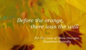 Beattie & Pryputniewicz 3 Oranges November Butterfly