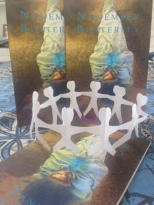 November Butterfly Paper Dolls