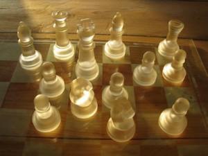 Sunlit Chess Robyn Beattie