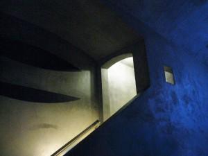 blue corridor by Robyn Beattie