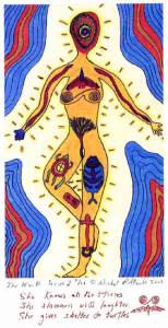 Several Things Went Into The Creation Of Shining Tribe Deck Originally Called Woman One Was Simply A Feeling That I Had Worked With Tarot